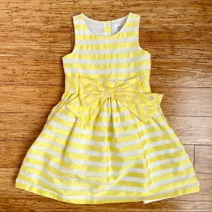 GYMBOREE I Girl Formal Yellow Dress (5)